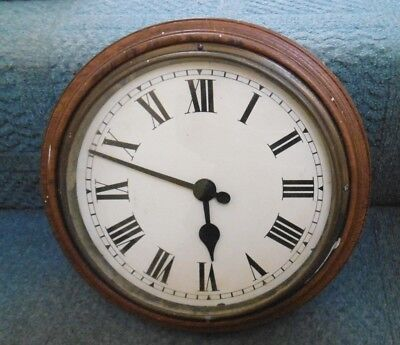 "Vintage Gillett & Johnston ""slave"" Electric Wall Clock"