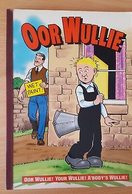 Vintage 'Oor Wullie Comic Book Annual from 2000