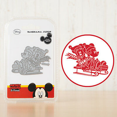 Disney PANORAMA SLEIGH Die From the Vintage Mickey Mouse & Friends Range