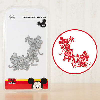 Disney PANORAMA DECORATING Die From the Vintage Mickey Mouse & Friends Range