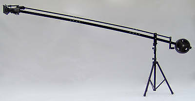 12 ft. Video Camera Crane Jib with STAND, LCD (HDMI) AND BAG