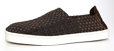 7567fd8044e STEVE MADDEN EXX Woven Slip On Shoes Bronze Women Sz 9.5 1067 -  90.09