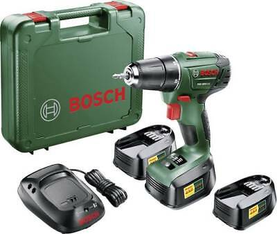 bosch psr 1800 li 2 cordless drill driver with 18 v. Black Bedroom Furniture Sets. Home Design Ideas