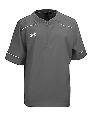 Under Armour Boy's Cage To Game Ultimate Jacket, Graphite (1251911-040)