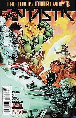 Fantastic Four 642 (Vol.5) Marvel 21 Jan 2015 NM