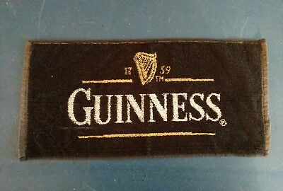 (L@@K) Guinness beer bar pub cloth towel game room man cave