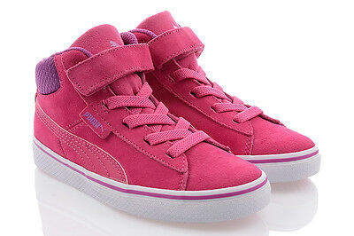 99c400e759 Shoes Puma 1948 Mid Vulc SD V Kids Trainers High Top Trainers Boots Winter