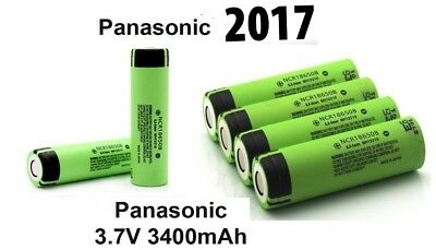 18650 3400mAh Rechargeable Battery NCR18650B Li-ion Vape Genuine Panasonic