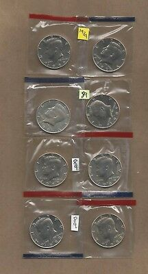 1989 P&D  Kennedy Half Dollars