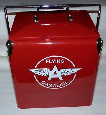Reproduction Flying A Gasoline Cooler, Retro Products Of Cal, Limited Production
