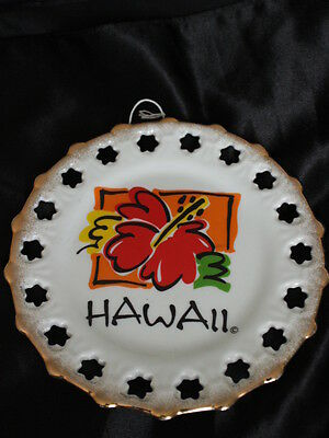"""Vintage State of HAWAII Collector's Plate 7.5"""" Diameter"""