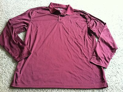 Nice men's size XL Palms Casino Las Vegas, NV burgundy shirt top collectible