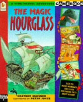 The Magic Hourglass (A Time-travel Adventure Gamebook) by Joyce Peter Paperback