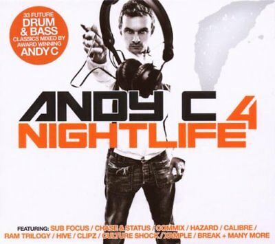 Various Artists - Andy C Presents Nightlife 4 - Various Artists CD LEVG The Fast