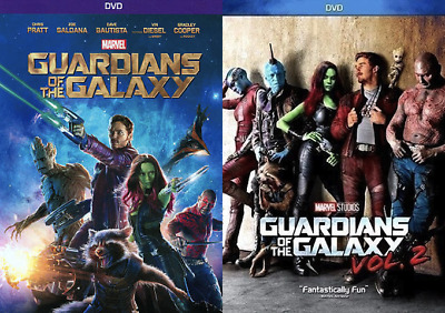 Guardians of the Galaxy Marvel Vol. 1 & Vol. 2 - Both Movies