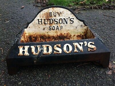 "Rare Buy Hudsons Soap ""Drink Puppy Drink"" Water Bowl"