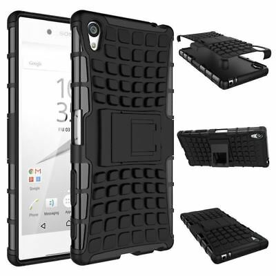 Heavy Duty Gorilla Shock Proof Stand Case Cover Military Builder  SONY Xperia L1