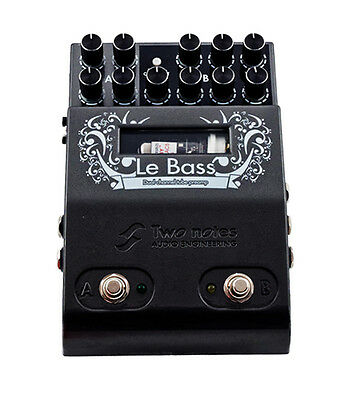 TWO NOTES Le Bass Dual Tube Preamp Vorverstärker