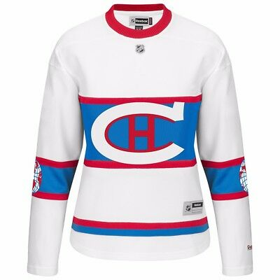4f39a9ce0995 2016 Montreal Canadiens Reebok Official Winter Classic Premier Jersey  Women s