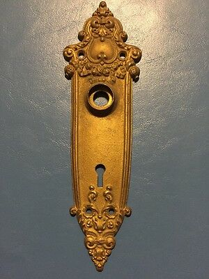 Antique Brass Door Plate
