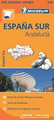 Andalucia by Michelin Travel & Lifestyle 9782067184459 (Sheet map, folded, 2013)