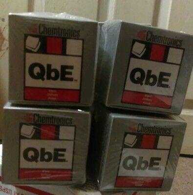 LOT of 8 New Chemtronics QbE Fiber Optic Cleaning Wipes Cube FOCCUS Cleaner