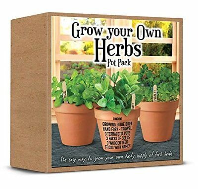 Demand Grow Your Own Herbs Pack