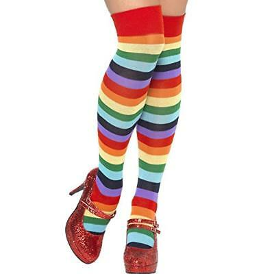 (TG. One Size) SMIFFYS Clown Calze, Lunghe - NUOVO