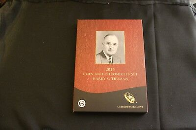 2015 HARRY S. TRUMAN Coin and Chronicles Set, Original Set from Mint