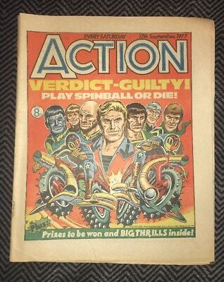 ACTION COMIC - year 1977 - 17/09/1977