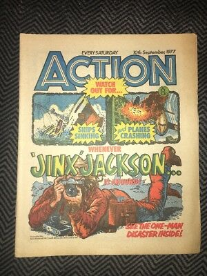 ACTION COMIC - year 1977 - 10/09/1977