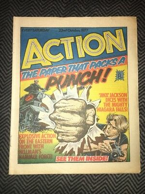 ACTION COMIC - year 1977 - 22/10/1977