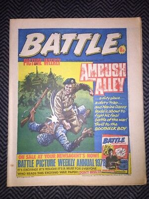 BATTLE PICTURE WEEKLY COMIC - year 1977 - 05/11/1977 - IPC magazines