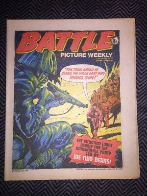 BATTLE PICTURE WEEKLY COMIC - year 1977 - 22/10/1977 - IPC magazines