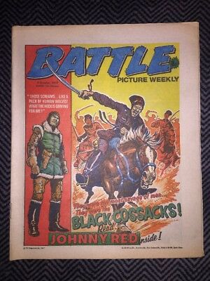 BATTLE PICTURE WEEKLY COMIC - year 1977 - 08/10/1977 - IPC magazines