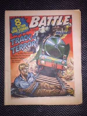 BATTLE PICTURE WEEKLY AND VALIANT COMIC - year 1977 - 01/10/1977 - IPC magazines