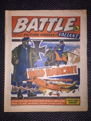 BATTLE PICTURE WEEKLY AND VALIANT COMIC - year 1977 - 24/09/1977 - IPC magazines