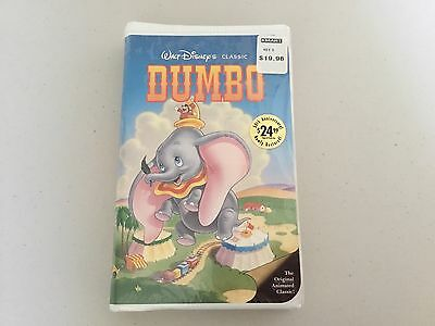 Collector's RARE DUMBO Black Diamond Walt Disney Classic VHS Tape~Never Opened!