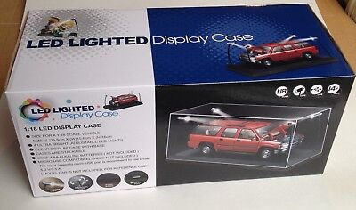 Die cast Company - LED LIGHTED DISPLAY CASE suitable for 1:18 scale models - MIB