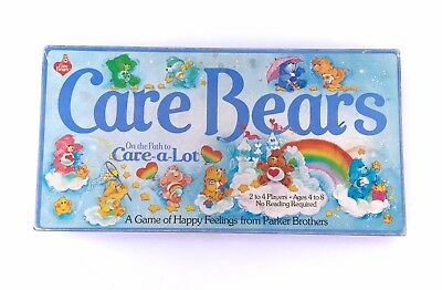 Vintage Care Bears Board Game of Happy Feelings by Parker Brother Near Complete