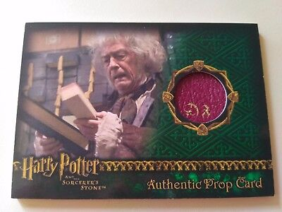 Harry Potter Gift Prop Card Sorcerer's Stone Wand Box SS Screen Used