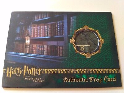 Harry Potter Gift Prop Card Sorcerer's Stone Restricted Section Library Book SS