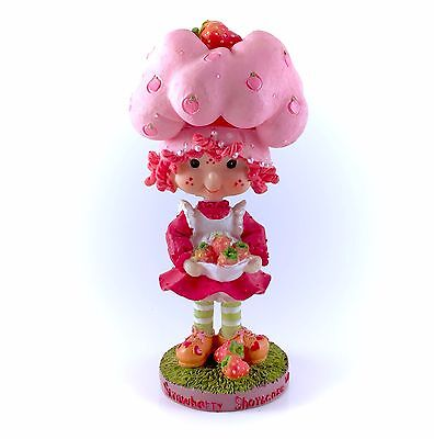 2002 Strawberry Shortcake Ceramic Bobblehead Figure Figurine TCFC Rare Vintage