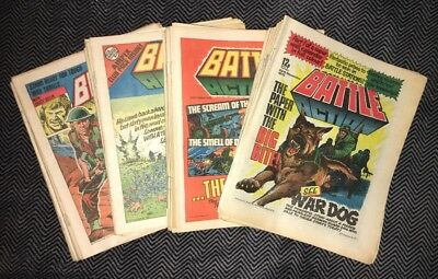 BATTLE ACTION COMIC - Almost Complete year 1979 - 6th Jan - 29th Dec- IPC mags