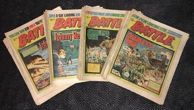 Battle-Action comic 1980. Almost Complete Year. GD-VG comics