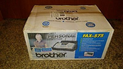 Brother FAX-575 Personal Fax Phone and Copier BRAND NEW!!