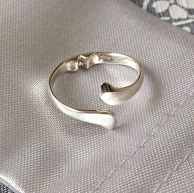 Anti Snore Ring - Sterling silver - Size adjustable, Acupressure sleep aid - NEW