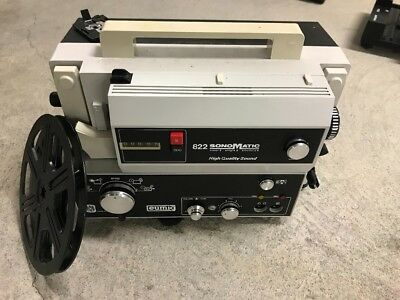 EUMIG 822 SONOMATIC 8mm SOUND MOVIE PROJECTOR