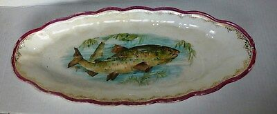 Antique/Vintage BEAUTIFUL Sterling China Large Fish Platter