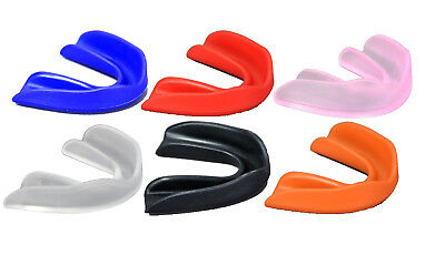 Mouthguard GumShield Teeth Protection Adult Youth Senior/Junior Boxing Rugby MMA